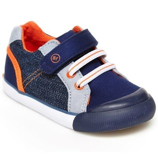 Stride Rite Navy SR Parker Sneaker by Stride Rite