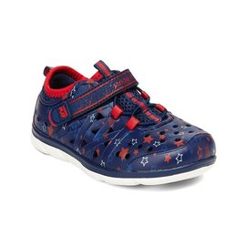 Stride Rite Navy Star Made 2 Play Phibian Summer Shoe by Stride Rite