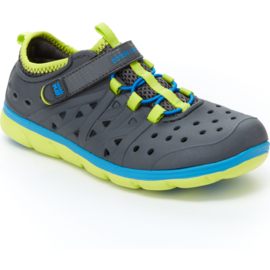 Stride Rite Grey Made 2 Play Phibian Summer Shoe by Stride Rite
