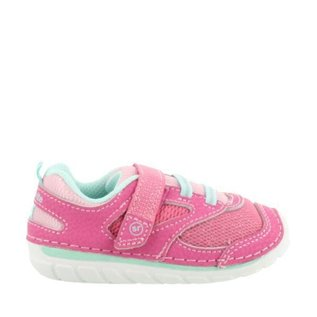 Stride Rite Light Pink, Soft Motion Adrian New Walker Shoes by Stride Rite
