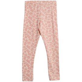 WHEAT KIDS Organic Cotton Jersey Leggings (Eggshell Floral) by Wheat