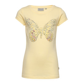 WHEAT KIDS Organic Cotton Lemon Butterfly T-Shirt by Wheat