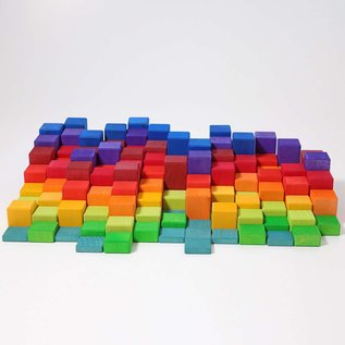 Grimms Stepped Counting Blocks (4cm thick)