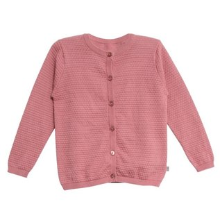 WHEAT KIDS Peach Rose Knit Cardigan 'Manuela' Style by Wheat