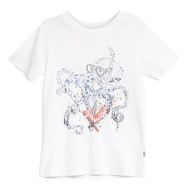 WHEAT KIDS Organic Cotton Octopus T-Shirt by Wheat