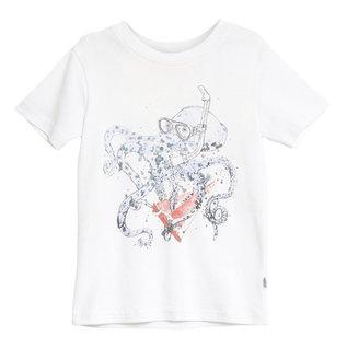 WHEAT KIDS Organic Cotton Octopus T-Shirt by Wheat