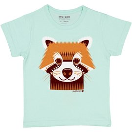 Coq en Pate Red Panda T-Shirt by Coq en Pate