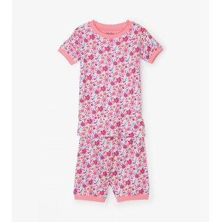 Hatley Summer Garden Organic Cotton Short & T-Shirt PJ Set by Hatley