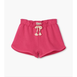 Hatley Fuchsia French Terry Shorts by Hatley