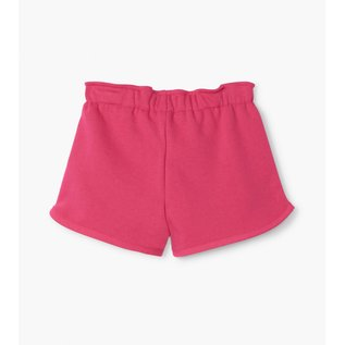 Hatley Fuchsia French Terry Shorts by Hatley