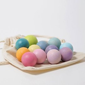 Grimms 12 Pastel Small Balls by Grimms