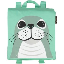 Coq en Pate Seal Organic Cotton Toddler Backpack by Coq en Pate