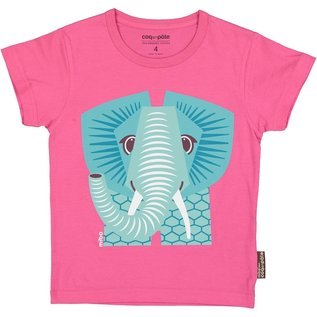 Coq en Pate Pink Elephant T-Shirt by Coq en Pate