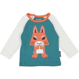 Coq en Pate Organic Cotton Squirrel Raglan Top by Coq en Pate