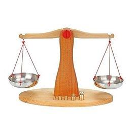 Gluckskafer Scale to Balance with 5 Weights by Gluckskafer