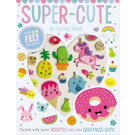 Make Believe Ideas Super-Cute Activity Book with Felt Stickers