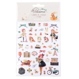 Moulin Roty Les Parisiennes Stickers by Moulin Roty