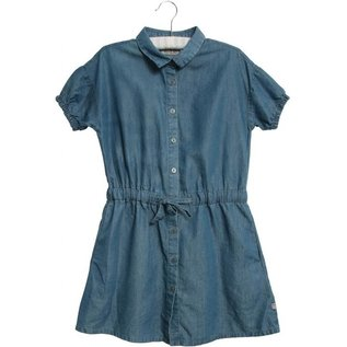 WHEAT KIDS Blue Jean Tiana Dress by Wheat