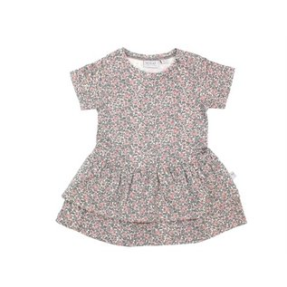 WHEAT KIDS Organic Cotton Johanna Dress Eggshell Floral by Wheat
