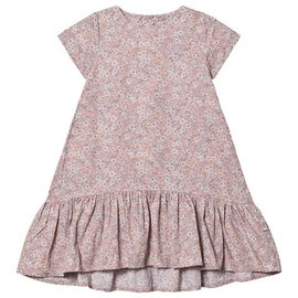 WHEAT KIDS Powder Flowers Print Linda Dress by Wheat
