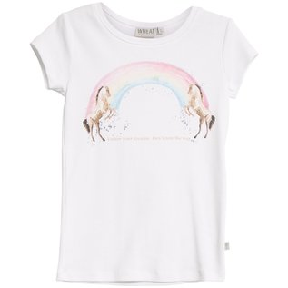 WHEAT KIDS Organic Cotton Rainbow/Horse T-Shirt by Wheat