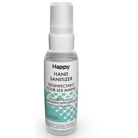 Happy Happy Hand Sanitizer (80% alcohol)  59ml