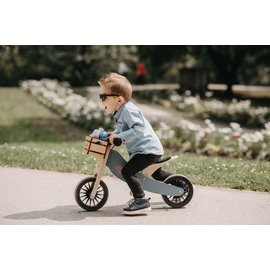 Kinderfeets Slate Blue Tiny Tot PLUS Balance Bike by Kinderfeets