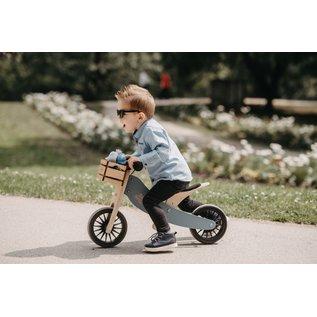 Kinderfeets Slate Blue Tiny Tot PLUS Balance Bike by Kinderfeets