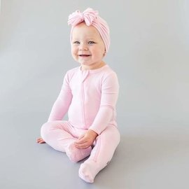 Kyte Baby Peony Colour Zippered Bamboo Footie by Kyte Baby