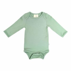 Kyte Baby Long Sleeve Matcha Colour Bamboo Bodysuit by Kyte Baby