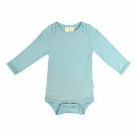 Kyte Baby Long Sleeve Seafoam Colour Bamboo Bodysuit by Kyte Baby
