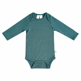 Kyte Baby Long Sleeve Emerald Colour Bamboo Bodysuit by Kyte Baby