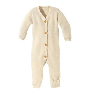 Disana Knitted Organic Wool Overall by Disana