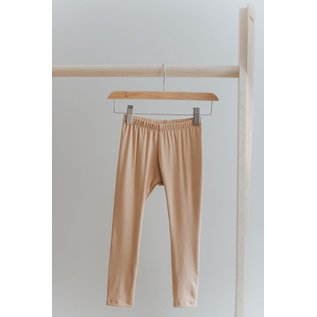 Jax & Lennon Caramel Colour Leggings by Jax & Lennon