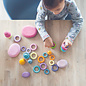 Grimms Pastel Building Rings by Grimms (24 Piece)