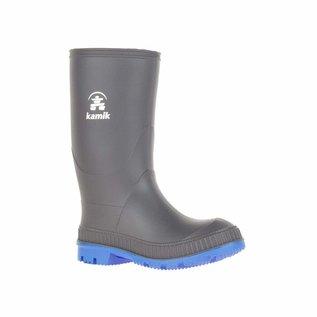 Kamik Charcoal Blue Stomp Rain Boots by Kamik