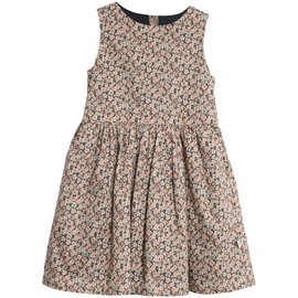 WHEAT KIDS Ink Flowers Print Thelma Style Dress by Wheat Kids