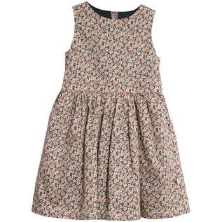 WHEAT KIDS Ink Flowers Print Thelma Style Dress by Wheat Kids