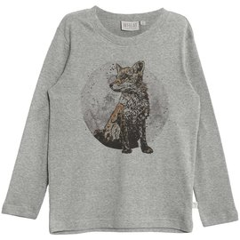 WHEAT KIDS Fox Long Sleeve Organic Cotton Shirt by Wheat