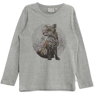 WHEAT KIDS Fox Long Sleeve Organic Cotton Shirt by Wheat