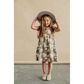 Jax & Lennon Floral Double Ruffle Dress by Jax & Lennon