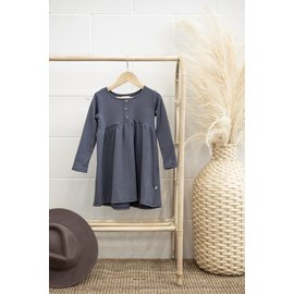 Jax & Lennon Blue Peplum Dress by Jax & Lennon