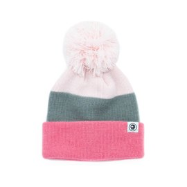 Headster Tri Colour Pink Beanie by Headster