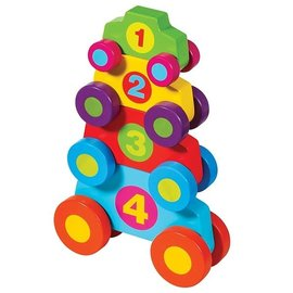 Schylling Wooden Stack & Play Cars