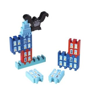 Schylling Wooden Monkey Business Stack & Play Set
