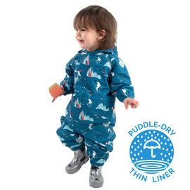 Jan & Jul by Twinklebelle Arctic Print Cozy-Dry Fleece Lined Waterproof Play Suit by Jan & Jul