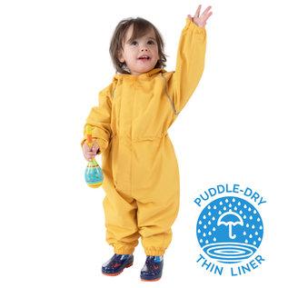 Jan & Jul by Twinklebelle Yellow Puddle-Dry Waterproof Play Suit by Jan & Jul