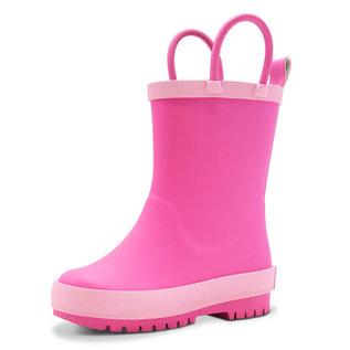 Jan & Jul by Twinklebelle Watermelon Pink Rain boots by Jan & Jul