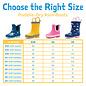 Jan & Jul by Twinklebelle Arctic Print Rain boots by Jan & Jul
