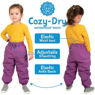 Jan & Jul by Twinklebelle Cozy-Dry Fleece Lined Rain Pant by Jan & Jul